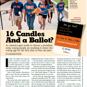 16 Candles and a Ballot in Lowell